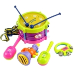5-Pcs-jouets-musicaux-bébé-rouleau-tambour-Instruments-de-musique-jouets-Band-Kit-enfants-enfants-bébés