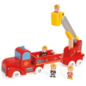 janod-camion-de-pompiers-en-bois-geant-story